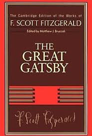 f scott fitzgerald  cover of the first volume in the series