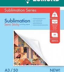 <b>Сублимационная</b> матовая <b>бумага LOMOND Semi</b> Sticky ...