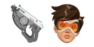 Tracer is a damage hero in overwatch. Overwatch 2 Tracer Pulse Pistol Cursor Custom Cursor