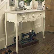cheap hallway table. Cream Wooden Console Hallway Table With Drawers - Country Ash Range Cheap E