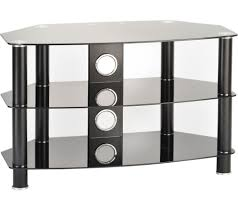 Tv Stand Black Buy Ttap Vantage 600 Tv Stand Black Free Delivery Currys