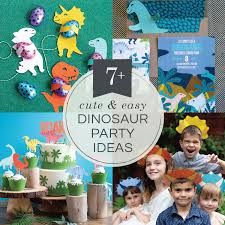 Diy Party Printables 7 Cute Easy Diy Dinosaur Party Ideas Lia Griffith