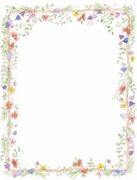 Floral Borders For Word Free Flower Page Border Download Free Clip Art Free Clip