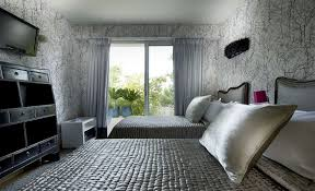 Patterned Wallpaper For Bedrooms Black And White Wallpaper Designs For Bedrooms Home Design Bedroom