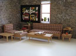 Mid Century Living Room Furniture Vintage 50s Mid Century Modern Living Room Furniture By