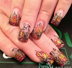 Fall Nail Designs Nail Art Designs For Fall Hession Hairdressing