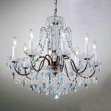 classic traditional chandelier 8 light pellucid crystal oil rubbed bronze free 4 small