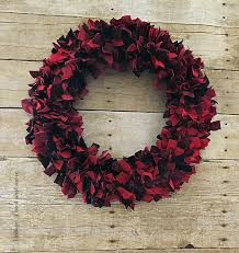 vintage paint and more diy rustic farmhouse wreath made from red