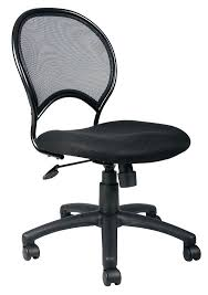 computer chair without wheels desk chair without arms boss mesh back task chair w no arms