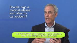 Should I Sign A Medical Release Form After My Car Accident? - Youtube