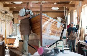 contemporary wooden boatbuilding