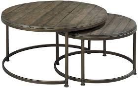 round nesting coffee table new hammary leone cocktail wayside furniture within 2