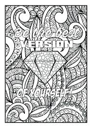 Printable Coloring Pages Quotes Printable Adult Coloring Pages Adult
