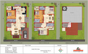 innovation 30 x 60 duplex house plans 3 west facing arts by feet for 40x planskill