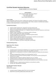dentist resume objective dental receptionist resume free resume ...