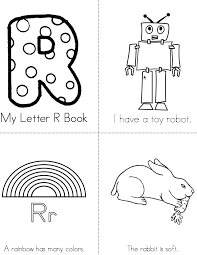 mini coloring book printable pretty looking letter r books twisty noodle