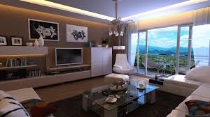 Cool Bachelor Pad Decorating to Maintain Great Inspiration : Elftug White  Taupe Living Room