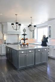 Of Kitchen Floors Love The Contrast Of White And Dark Wood Floors By Simmons Estate