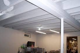 basement ceiling ideas cheap. Cheap Way To Finish A Basement Ceiling White Ideas On Budget