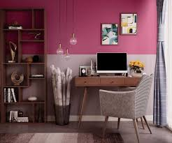 try deep pink house paint colour shades