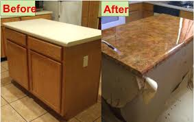 kitchen counter refinish laminate how to install formica countertops cutting installed stainless steel tops on a