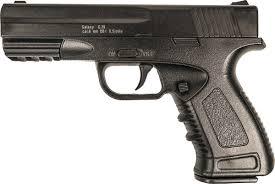<b>Пистолет</b> софтэйр <b>Galaxy G</b>.39, пружинный, цвет: черный, 6 мм