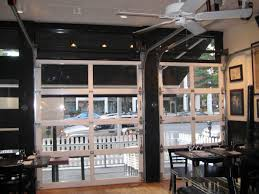 glass garage doors restaurant. Modren Restaurant Amazing Overhead Glass Garage Door With Perfect Doors  Restaurant 7 Retractable In Design Throughout T
