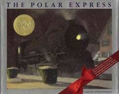 the polar express by chris van allsburg mm cpsd picture book j pb vlsb a magical train ride on eve takes a boy to the north pole to receive a
