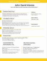 Sample Resume Jobstreet Philippines Professional Resume Templates