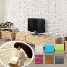 2016 new 3d wall stickers diy soft baby wall carpet 70 38cm pe bubble brick tile floor tile home accessories removable wall decals for kids removable wall