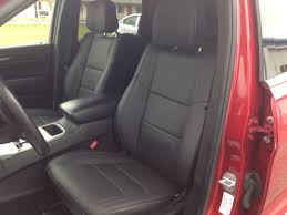 black replacement leather interior seat covers fits 2016 2018 jeep grand cherokee laredo