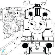 Thomas Train Coloring Page The Train Coloring Pages Free The Train