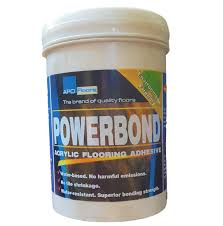apo powerbond acrylic flooring adhesive for vinyl tiles 1 25kg