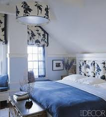 9 blue and white room ideas
