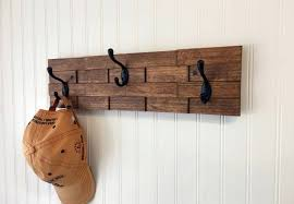 Rustic Wall Coat Rack Delectable Rustic Wall Coat Rack Milton Milano Designs Wall Mounted Coat Hooks