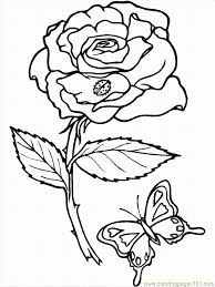 Small Picture Realistic Flower Coloring Pages Printable realistic flower