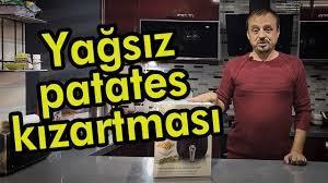 Kiwi Kaf 5512 marka Fritöz ile yağsız patates kızartması - YouTube