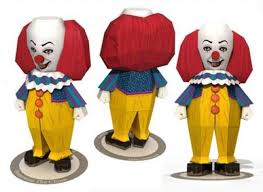 the dancing clown it or bob gray papercraft pennywise the dancing clown it or bob gray papercraft