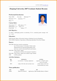 How To Write A Resume For University Application 24 Example Of A Cv For Student In University Musicre Sumed How To 11