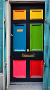 Front Doors: Mesmerizing Bold Front Door Color For Contemporary ...