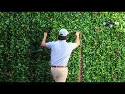 artificial leaf panels installation