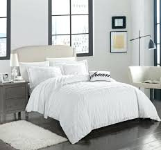ruched bedding chic home 4 piece cotton duvet cover set ruched bedding white chic home design