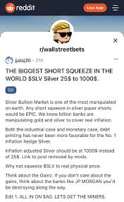 It is a new digital currency being developed by a group of stanford university.there is no impact on the battery, its cloud mining. Silver Is The Latest Market Hit By Reddit Day Trader Frenzy Bloomberg