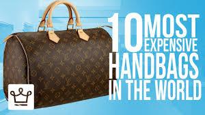High End Designer Bag Brands Top 10 Most Expensive Handbags In The World