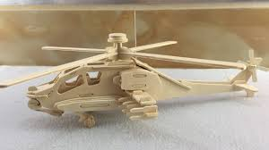 3d wood craft construction kit how to make a wooden helicopter diy toys puzzle