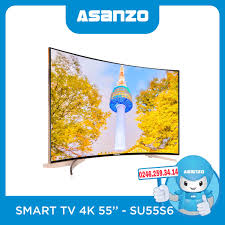 Smart Tivi Asanzo 55 Inch 55S6 - Tivi 4K Cong Giá Rẻ - ASANZO Hà Nội