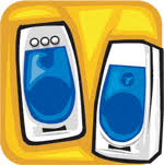computer speakers clipart. speakers clipart computer r