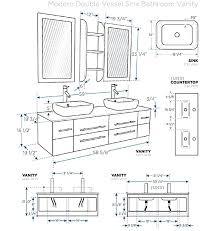 standard bathroom cabinet sizes vessel sink cabinet standard bathroom sink base cabinet dimensions