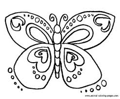 Free Coloring Book Pages Of Butterflies Butterfly Coloring Pages For