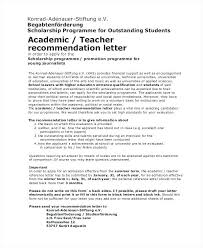 Sample Letter Of Recommendation For College Admission From Teacher Examples Of Scholarship Letters Recommendation Appeal Letter For